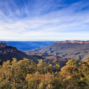 The Blue Mountains half day tour the Jamison Valley