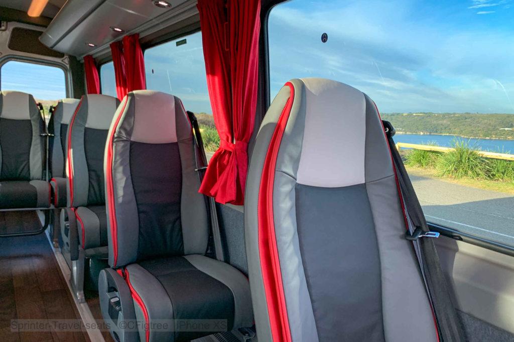 The Sprinter Travel interior view
