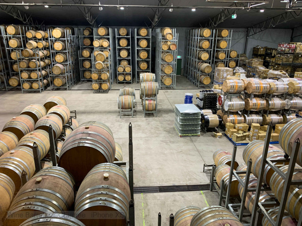Wine Barrels at the Hunter Valley