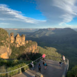 A view of the Three Sisters at Echo Point