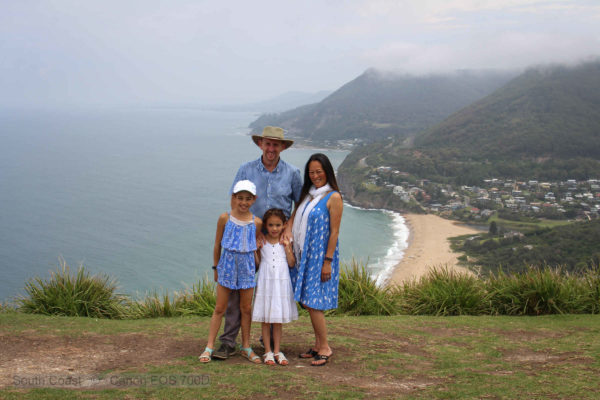 Family at Bald Hill