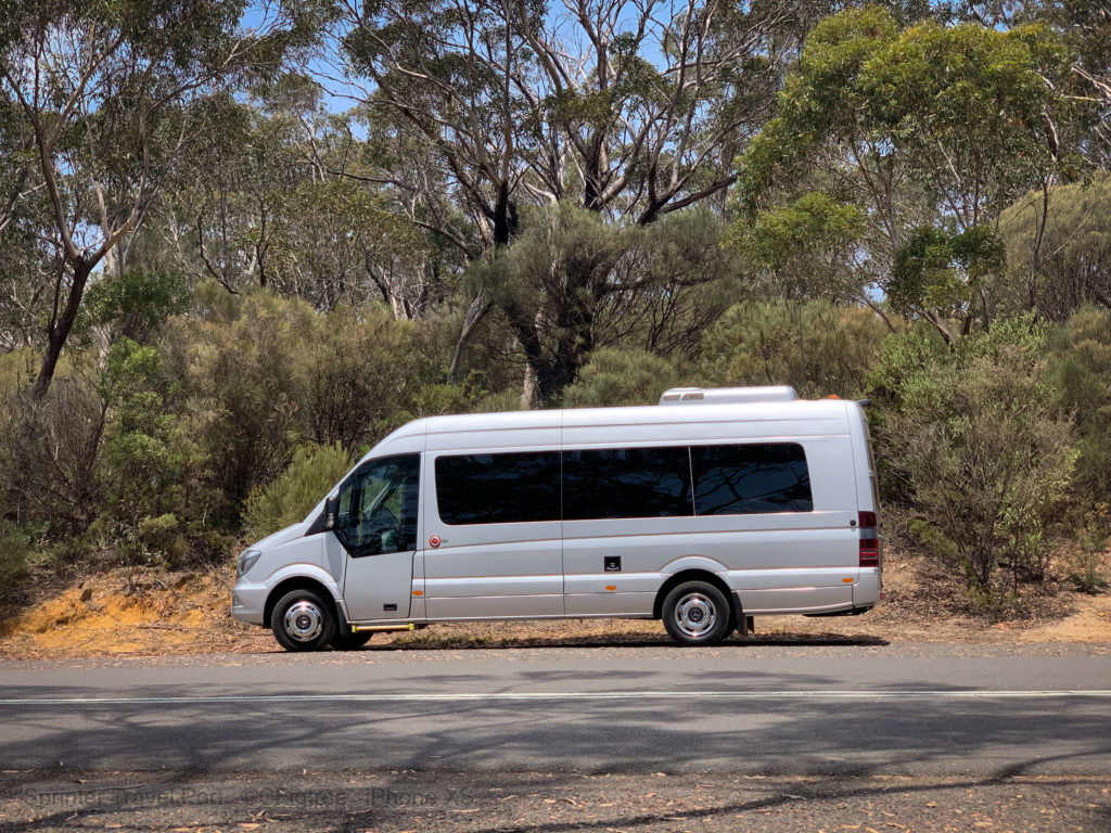 Mercedes Sprinter Travel in the Blue Mountains