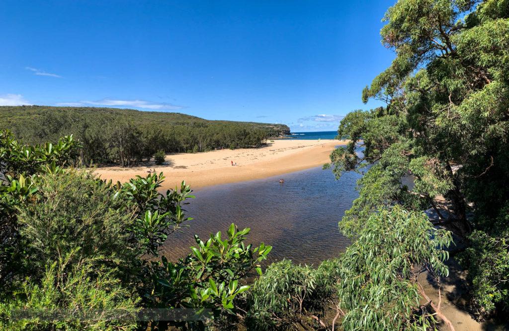 Wattamolla beach and lagoon