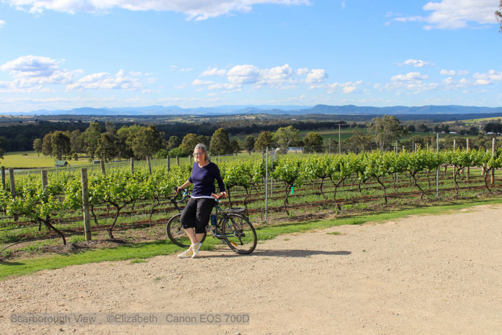 Hunter Valley with Elizabeth